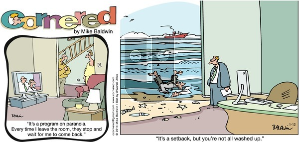 Cornered on Sunday January 12, 2014 Comic Strip