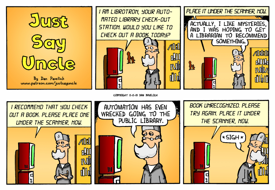 Just Say Uncle by Dan Pavelich for May 06, 2019