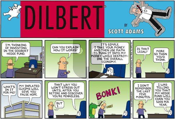 Dilbert - Sunday April 12, 2009 Comic Strip
