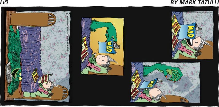 Lio for Feb 21, 2010 Comic Strip