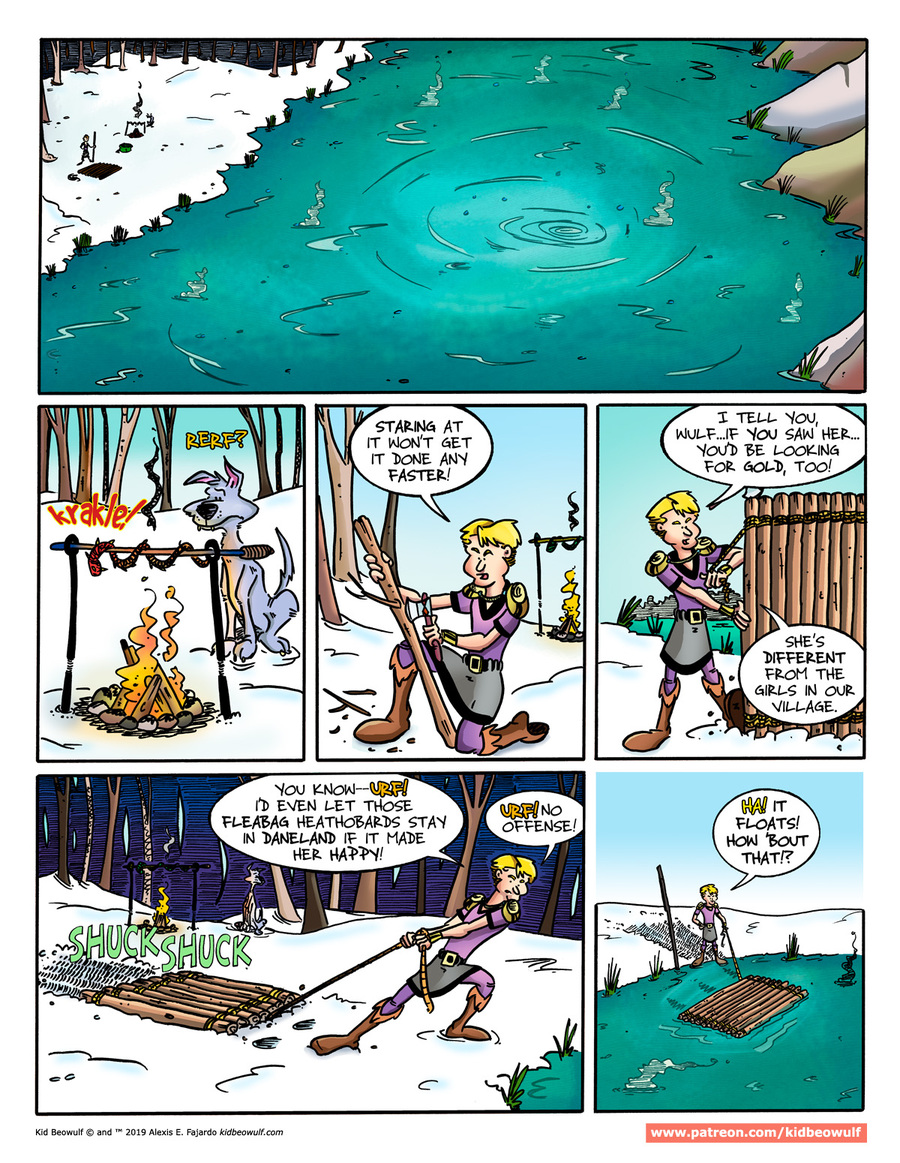 Kid Beowulf by Alexis E. Fajardo for February 20, 2019