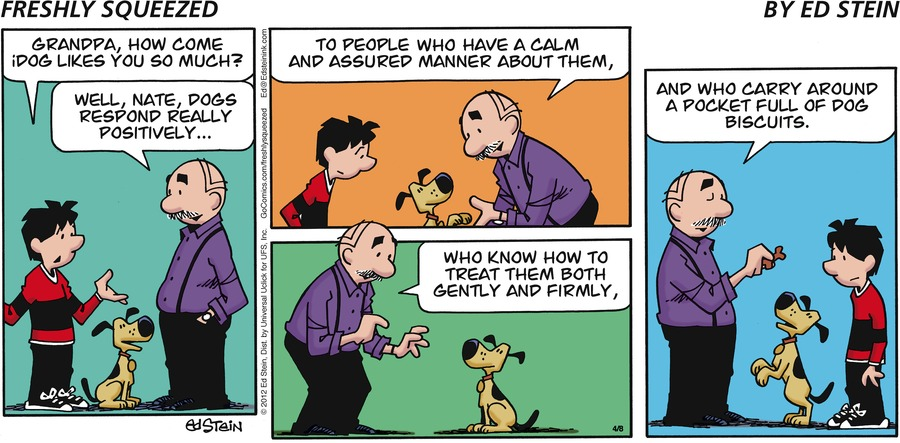 Freshly Squeezed Comic Strip for April 21, 2019