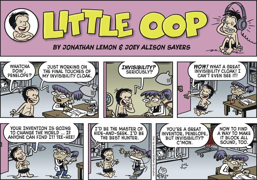 Alley Oop Comic Strip for June 07, 2020