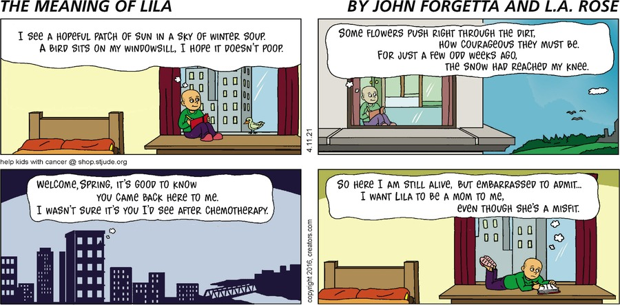 The Meaning of Lila Comic Strip for April 11, 2021