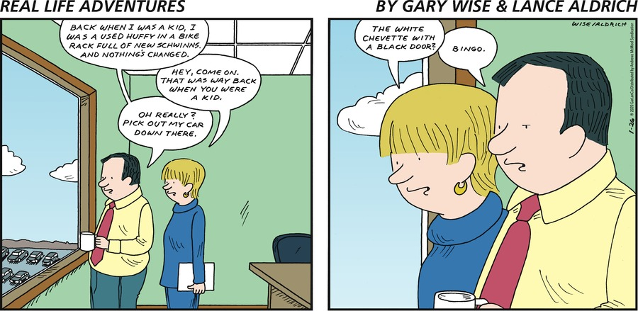 Real Life Adventures Comic Strip for January 26, 2020
