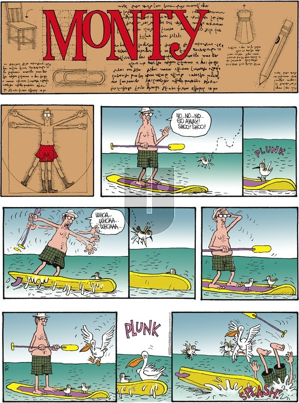 Monty on Sunday July 26, 2020 Comic Strip