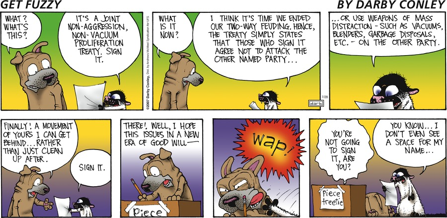 Get Fuzzy Comic Strip for July 28, 2019