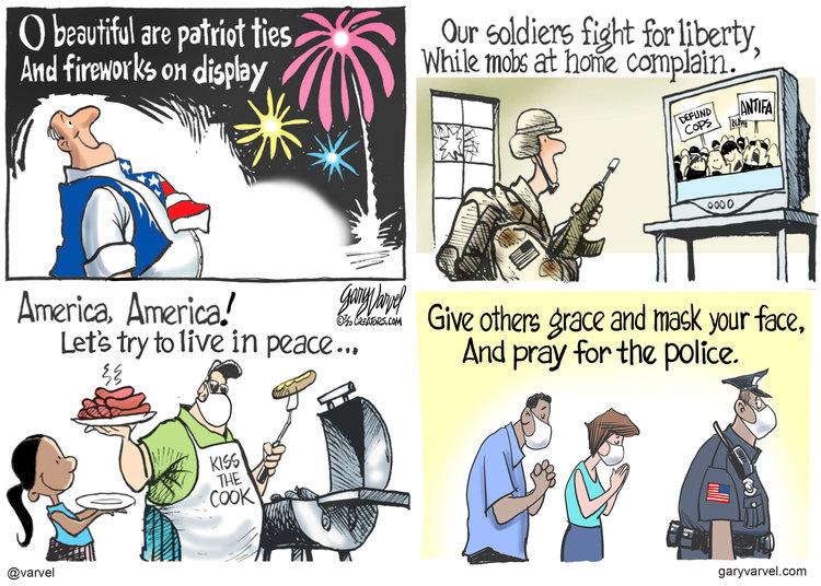 Gary Varvel Comic Strip for July 03, 2020