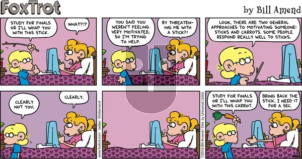 FoxTrot on Sunday May 22, 2016 Comic Strip