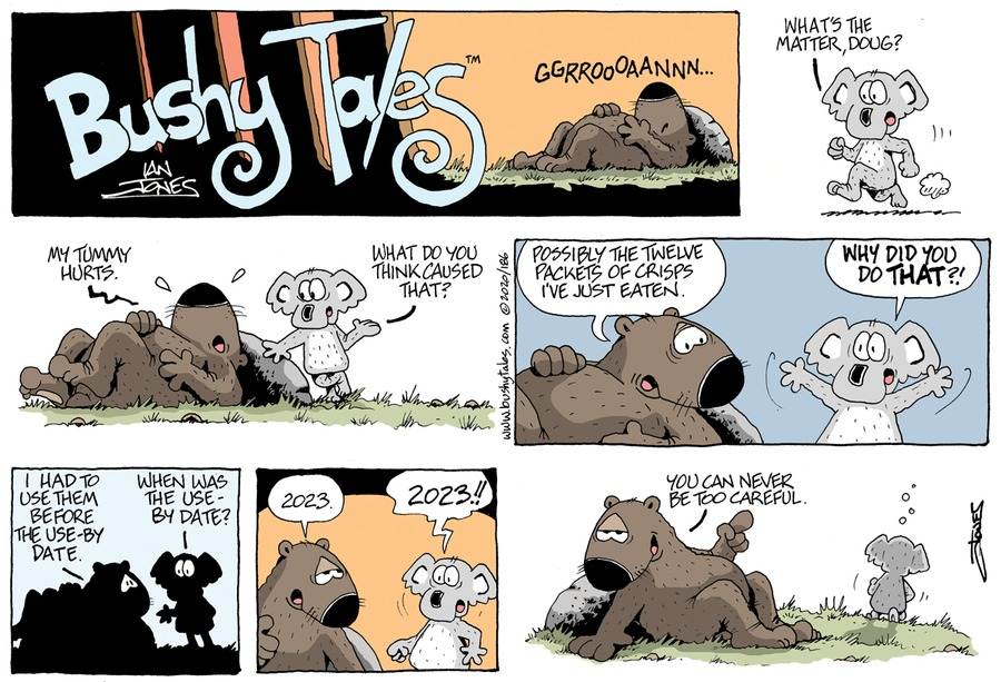 Bushy Tales Comic Strip for October 18, 2020