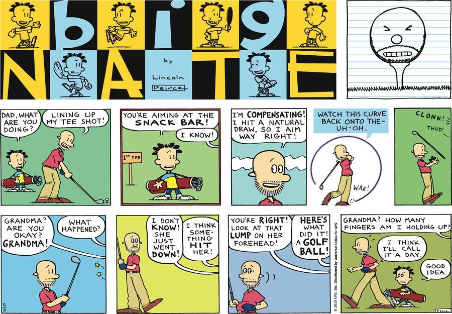 Big Nate Comic Strip for May 03, 2015