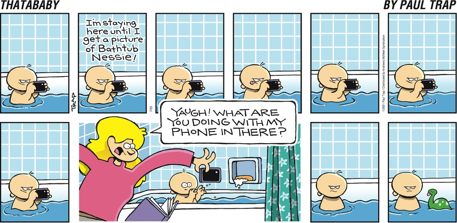 Thatababy Comic Strip for July 25, 2021