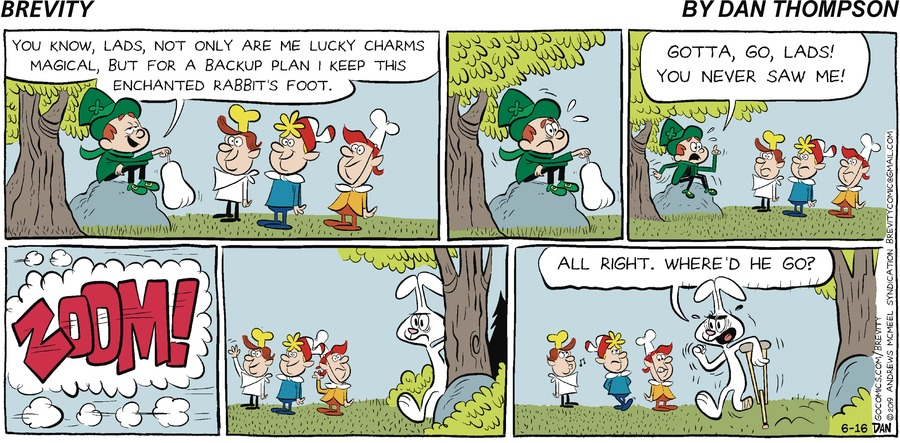 Brevity Comic Strip for June 16, 2019