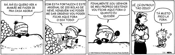 Calvin and Hobbes - Brazilian Portuguese