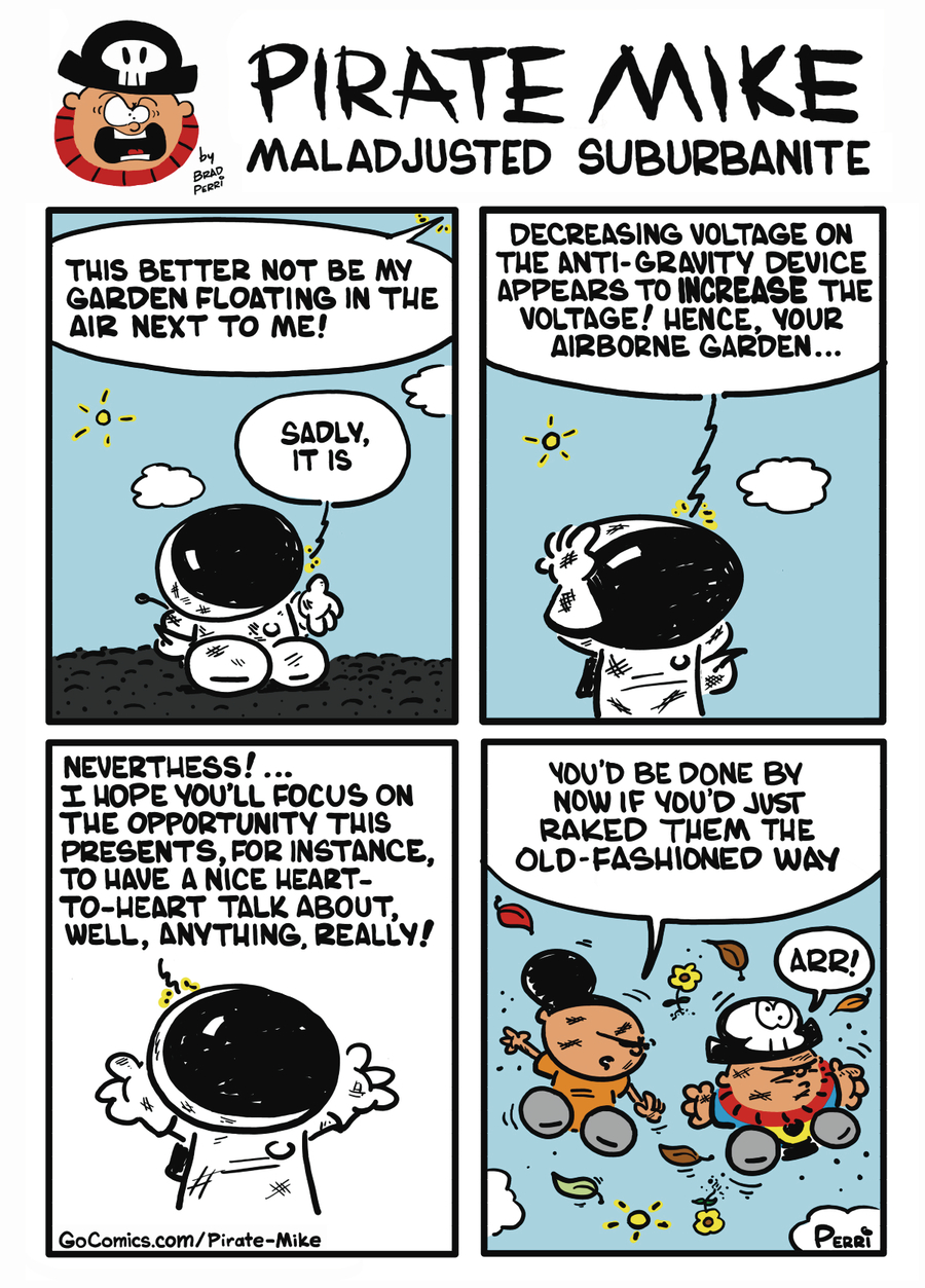 Pirate Mike Comic Strip for October 11, 2019