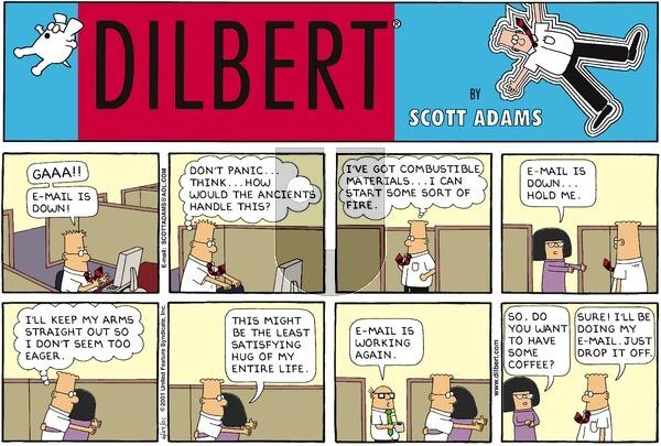 Dilbert - Sunday June 24, 2001 Comic Strip
