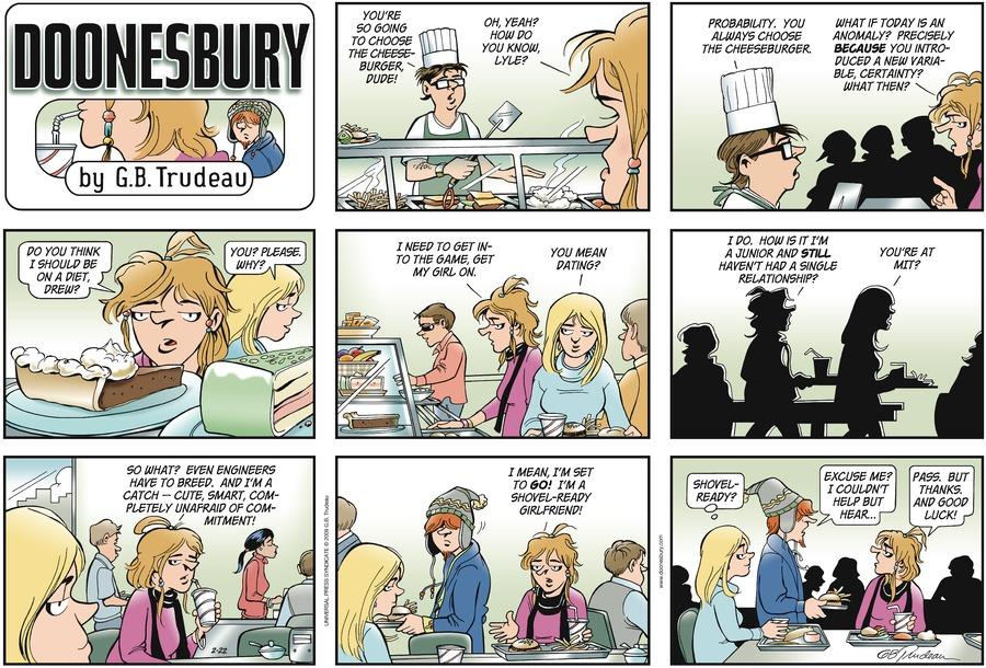Doonesbury for Feb 22, 2009 Comic Strip