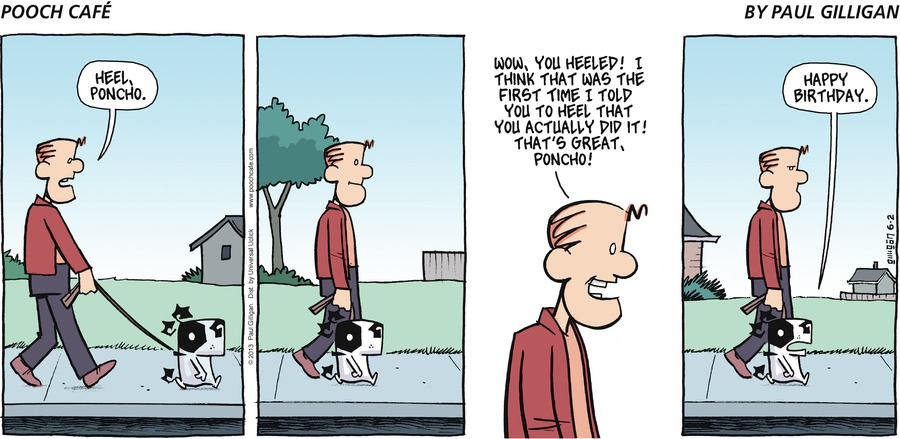 Pooch Cafe for Jun 2, 2013 Comic Strip