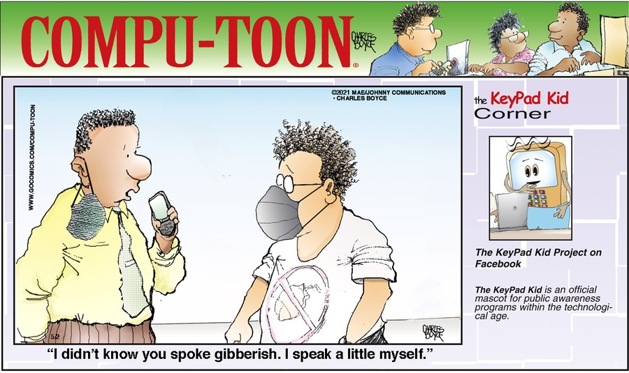Compu-toon by Charles Boyce on Sun, 02 May 2021
