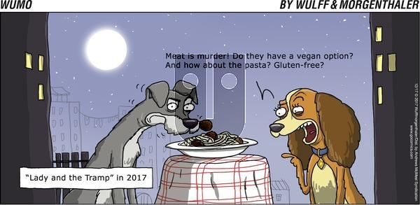 WuMo on Sunday December 17, 2017 Comic Strip
