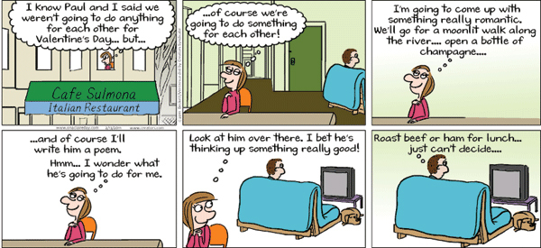 On A Claire Day Comic Strip for February 11, 2019
