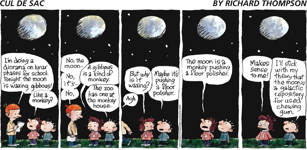 Cul de Sac Comic Strip for November 06, 2011