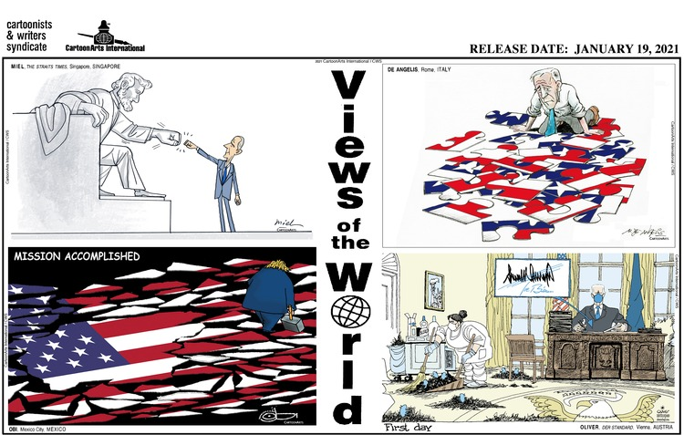 Views of the World Comic Strip for January 24, 2021