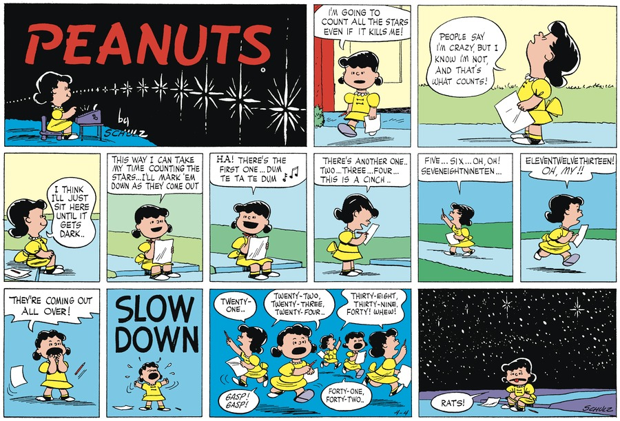 Peanuts Begins Comic Strip for July 06, 2018
