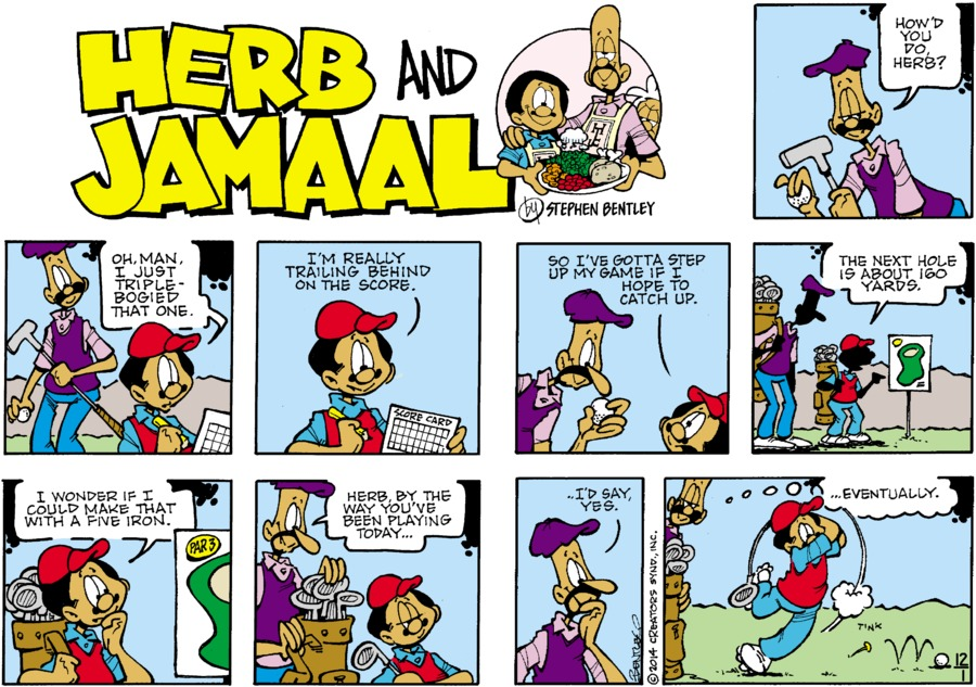 Herb and Jamaal Comic Strip for December 01, 2019