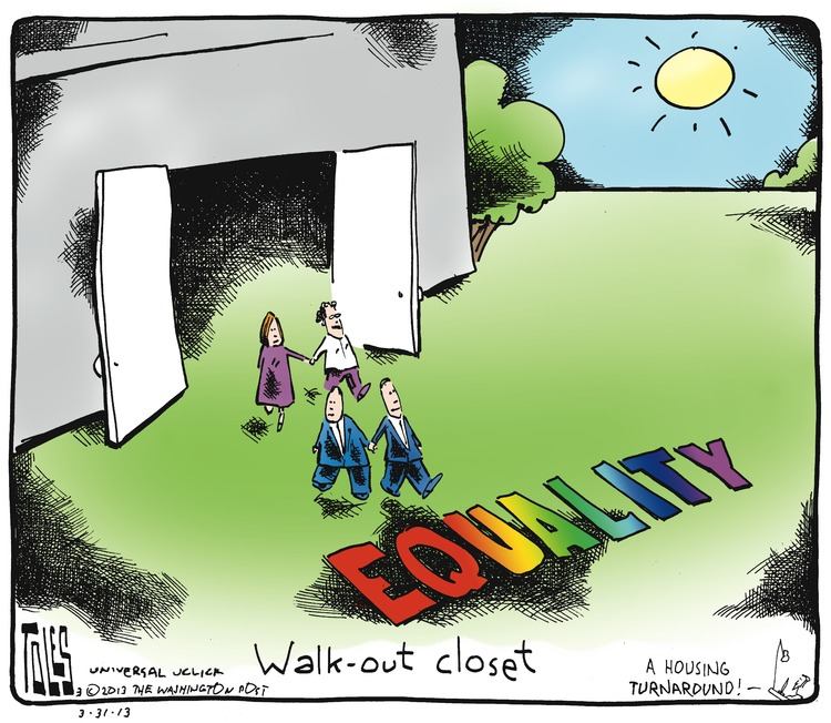 Walk-out closet