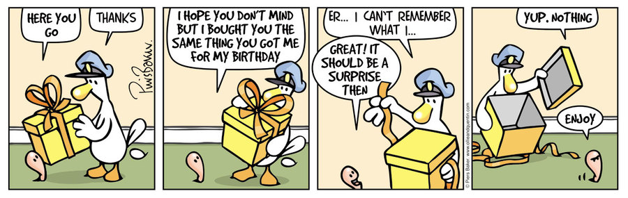 Ollie and Quentin Comic Strip for November 14, 2019