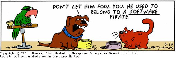 Frank and Ernest Comic Strip for March 23, 2001