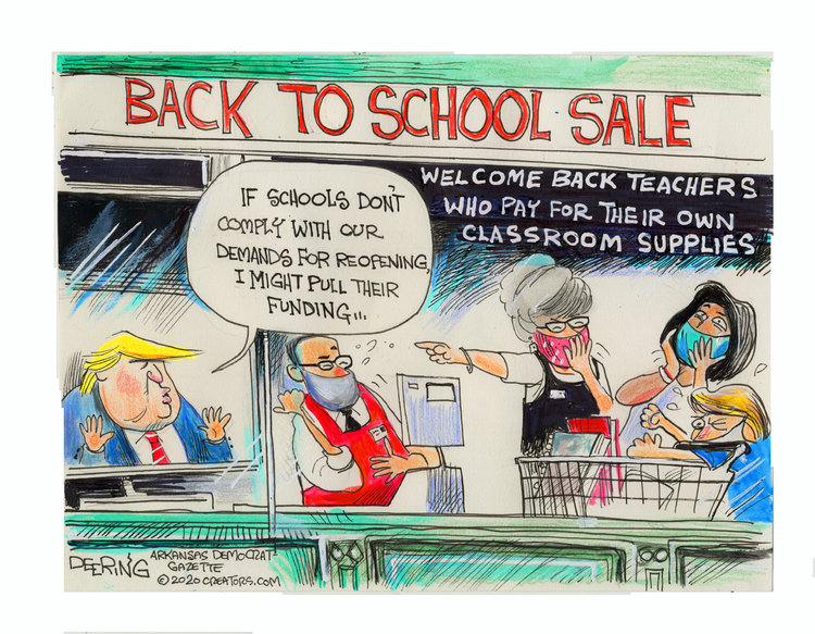 John Deering Comic Strip for July 14, 2020