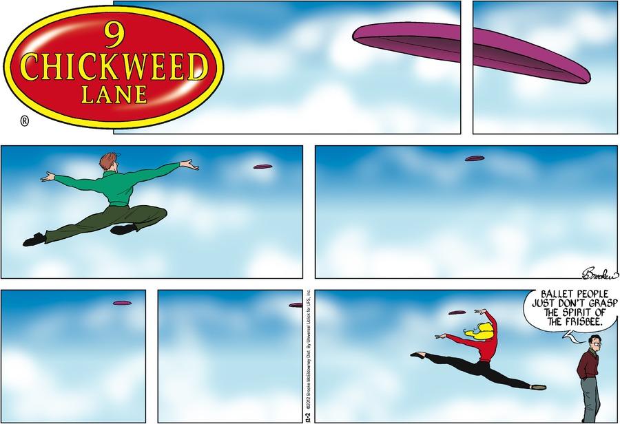 9 Chickweed Lane for Dec 2, 2012 Comic Strip
