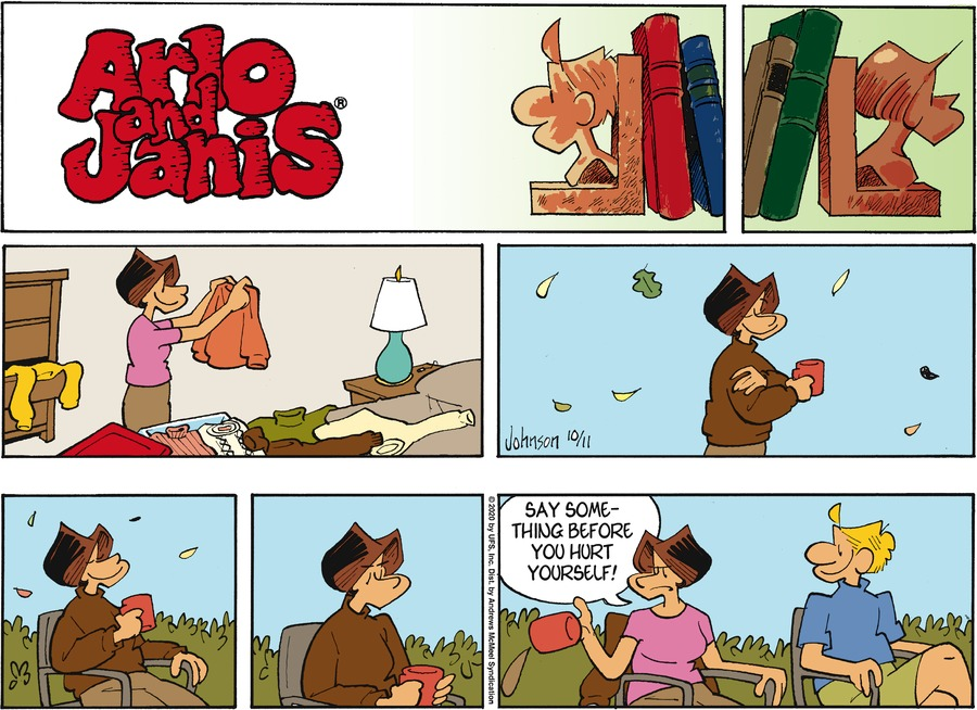 Arlo and Janis Comic Strip for October 11, 2020
