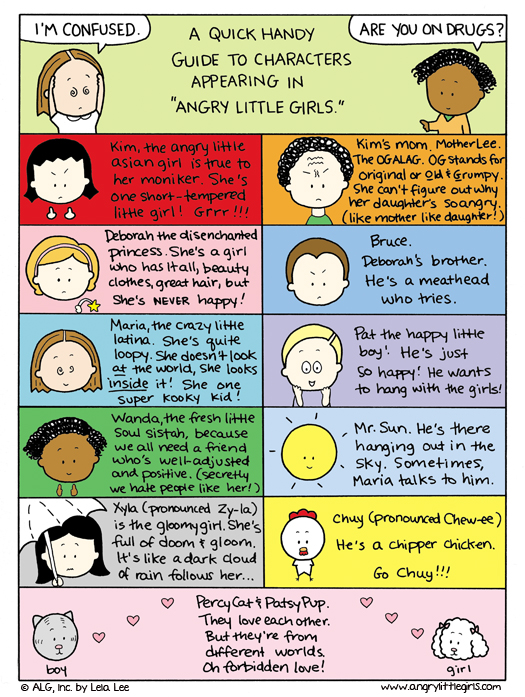 Angry Little Girls Comic Strip for August 11, 2011