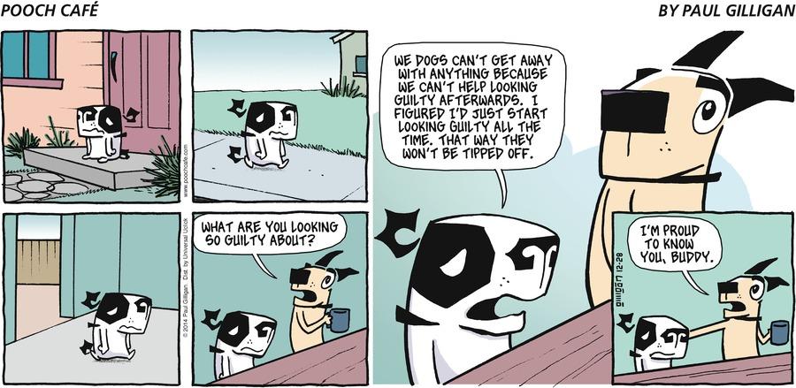 Pooch Cafe Comic Strip for December 28, 2014
