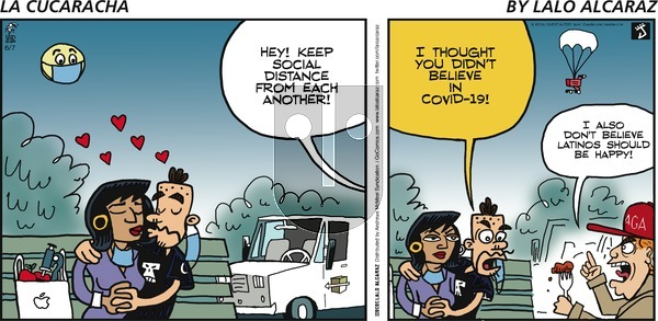 La Cucaracha on Sunday June 7, 2020 Comic Strip