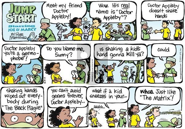 JumpStart on Sunday August 14, 2011 Comic Strip