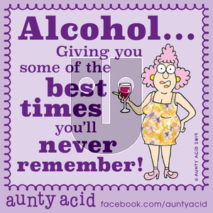 Aunty Acid on Friday October 11, 2019 Comic Strip