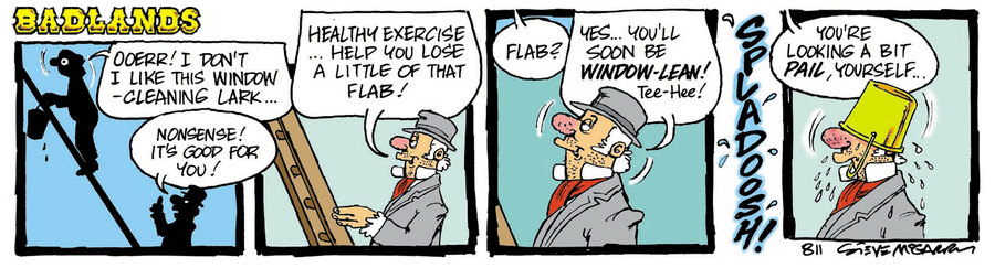 Badlands Comic Strip for May 13, 2021
