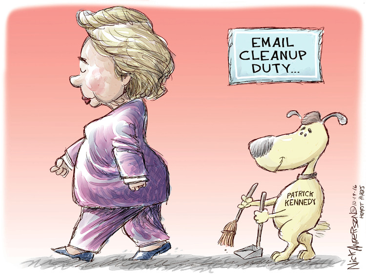Nick Anderson Comic Strip for October 19, 2016