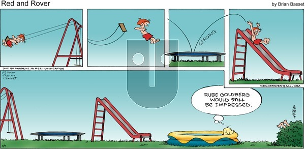 Red and Rover - Sunday August 9, 2020 Comic Strip