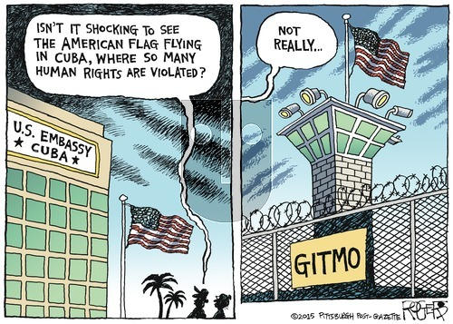 Rob Rogers on Sunday August 16, 2015 Comic Strip
