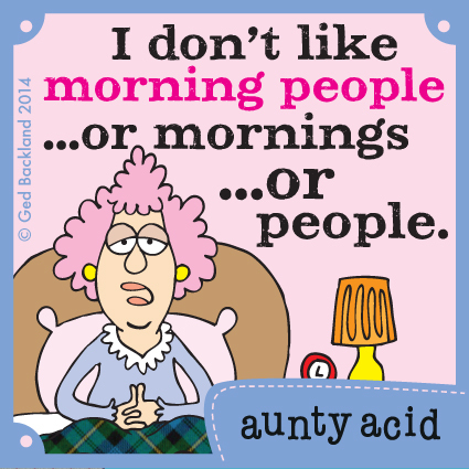 Aunty Acid for Apr 20, 2014 Comic Strip