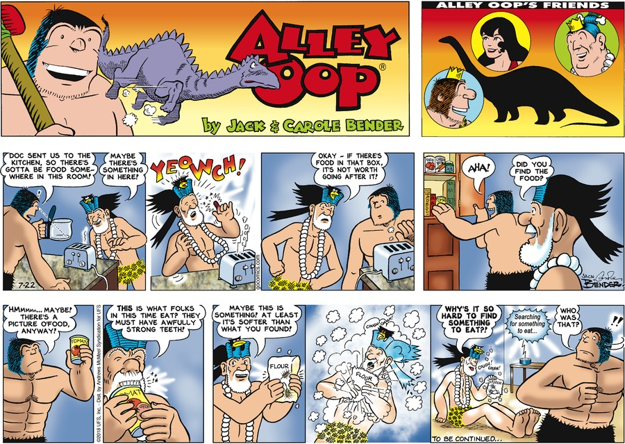 Alley Oop Comic Strip for July 22, 2018