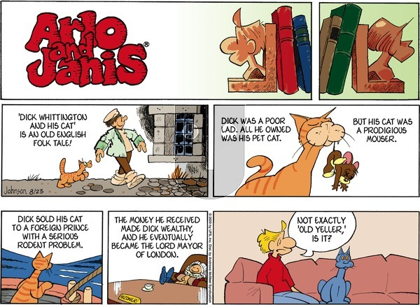 Arlo and Janis on Sunday August 23, 2020 Comic Strip