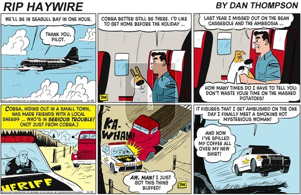 Rip Haywire on Sunday January 12, 2020 Comic Strip