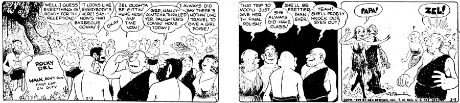 Alley Oop Comic Strip for February 03, 1939