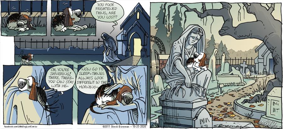 Little Dog Lost Comic Strip for October 25, 2020